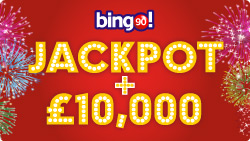 bingo 90 jackpot drop