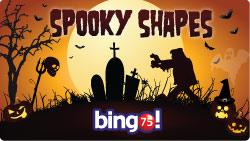bingo 75 spooky shapes