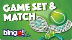 Bingo Lite Game Set Match